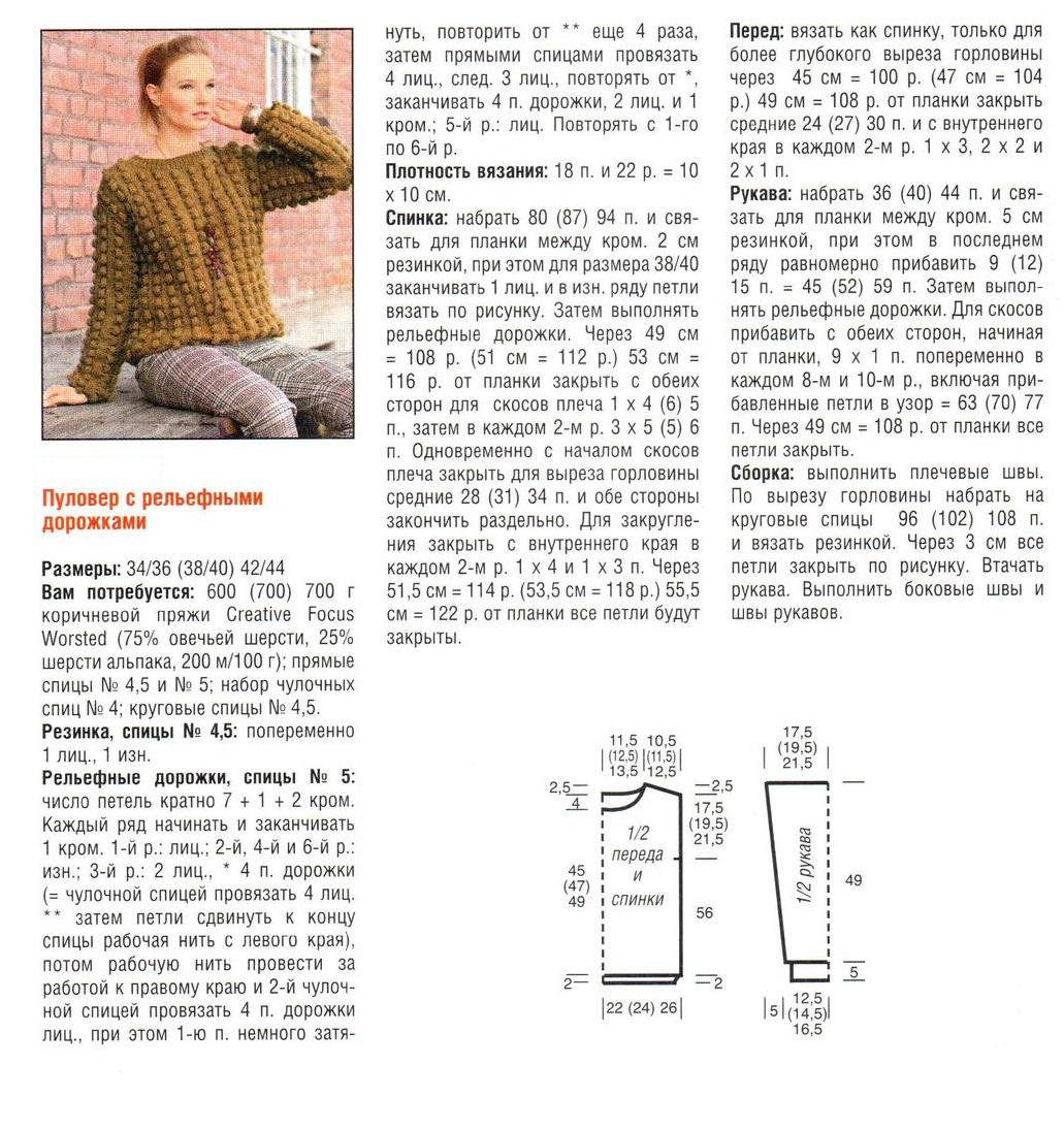 Поиск на Постиле: свитер резинкой 6